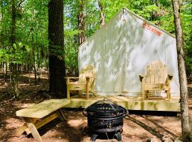 Tentrr State Park Site - Lake Claiborne State Park Site D, luxury tent in Homer