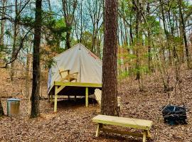 Tentrr State Park Site - Lake Claiborne State Park Site I, luxury tent in Homer