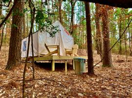 Tentrr State Park Site - Lake Claiborne State Park Site F, luxury tent in Homer