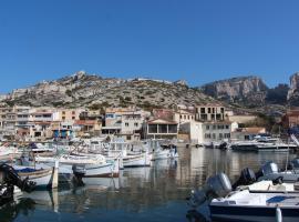 Charmant Cabanon aux Goudes à Marseille avec vue mer, maison de vacances à Marseille