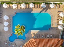 Aegean Blu Hotel & Apartments, hotel near Muslim Shrine Lotzias, Kos Town
