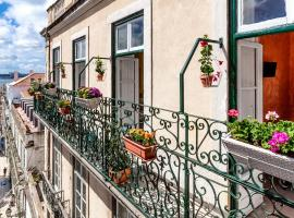 Casinha das Flores, guest house in Lisbon