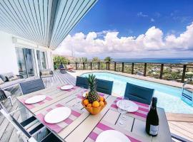 Villa XO, Sublime Sea View, 5 min from Orient Bay Beach, villa in Orient Bay