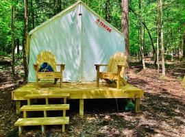 Tentrr State Park Site - Lake D'Arbonne State Park Site B, luxury tent in Farmerville
