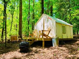 Tentrr State Park Site - Lake D'Arbonne State Park Site D, luxury tent in Farmerville