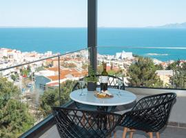 Blue View Apartments, hotel with parking in Kavala