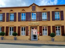 Hôtel Restaurant du Commerce, hôtel à Estang