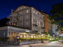 Hotel Ristorante Eurossola, hotel in Domodossola