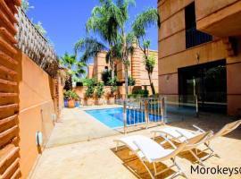 Magnifique Villa 5ch/10 pers, Piscine privative, hotel in Marrakesh