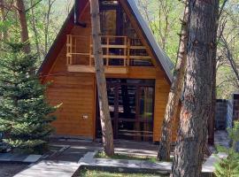 Woodland cottages, отель в Цахкадзоре