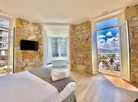 SanSebastianForyou / Mirandoalaconcha Rooms, apartamento en San Sebastián