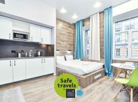 White Apart, apartment in Saint Petersburg