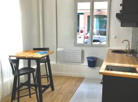 Studio La Perle Noire plein centre, ruelle calme, apartment in Le Havre