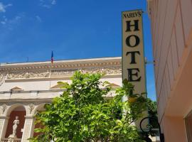 Hôtel Narev's, pet-friendly hotel in Menton