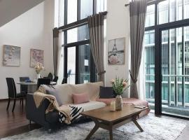 Vyonne Homestay Kota Kinabalu @ Riverson Soho, budget hotel in Kota Kinabalu