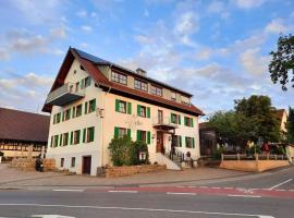 Gasthof Adler, hotel near Messe Friedrichshafen, Oberteuringen