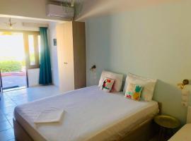 Golden view apartments Myrina Limnos, κατάλυμα στη Μύρινα