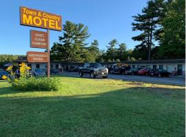 Town & Country Motel, hotel em Parry Sound