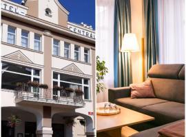Penzion Hotelu Central, hotel poblíž významného místa Zoo Dvůr Kralové, Dvůr Králové nad Labem