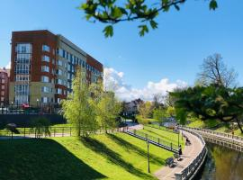 Апартаменты Lake House на Верхнем озере, accessible hotel in Kaliningrad