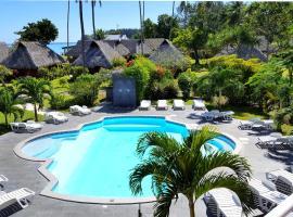 Hotel Hibiscus, hotel perto de Campo de golfe Moorea Green Pearl, Papetoai