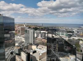 Tallinn CityView Apartment on 28th Floor, huoneisto Tallinnassa