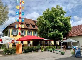 Hotel und Wirtshaus Löwen, hotel in Rielasingen-Worblingen