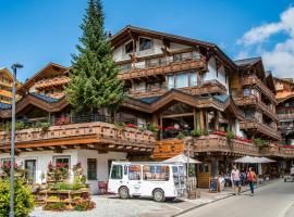 Walliserhof Grand-Hotel & Spa, hotel in Saas-Fee