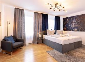Stylish apartment - 3 Min walk to Wuppertal main train station - Close to the University - Kitchen - Netflix, apartment in Wuppertal