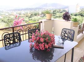 Villa Marena with extraordinary views by GHH, villa in Agios Nikolaos