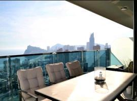 Sunset Drive Apartamento Exclusivo, hotel con jacuzzi en Benidorm