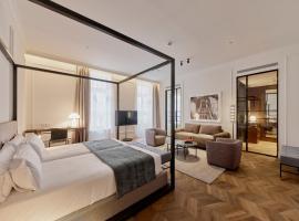 Kozmo Hotel Budapest - The Leading Hotels of the World, hotel poblíž významného místa Maďarské národní muzeum, Budapešť