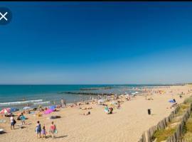 coté plage caravane, hotel near Beziers Cap d'Agde Airport - BZR,