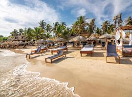 Palmarito Beach Hotel, hotel in Tierra Bomba