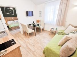 Rita Apartments - Charming new Apartment 2plus2 PartialSeaView, room in Tučepi