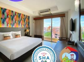 Piyada Residence Pattaya, hotel in Pattaya South