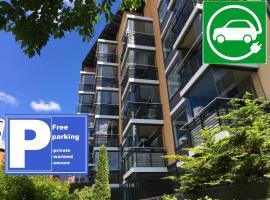 Top Apartments Helsinki - Tilkka, hotelli Helsingissä lähellä maamerkkiä Pasilan rautatieasema