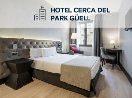 Ilunion Bel-Art, hotel in Barcelona