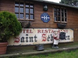 Le Saint Sebastien, hotel near Colbert Metro Station, Halluin