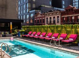 Sixty LES, hotel with pools in New York