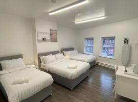 County road accommodation, hotel in Liverpool