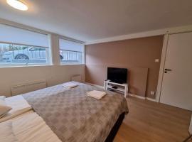 Room in Villa - Deluxe Room 4 Rent, King-sized Bed, Near Center, sted med privat overnatting i Stavanger