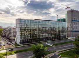 Warsaw Apartments Prymasa Street, apartment in Warsaw