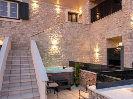 TEONA Luxury Studio Apartment with jacuzzi and sea view, apartment in Sali