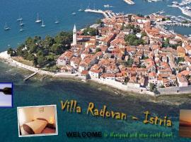 Villa Radovan, hotel in Novigrad Istria