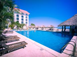 Hotel Caracol Plaza, hotel in Puerto Escondido