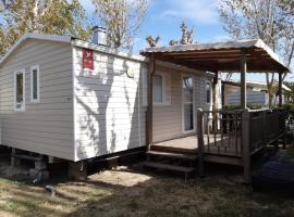 Mobil home, campsite in Valras-Plage