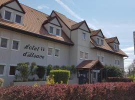 Hôtel d'Alsace, hôtel à Wissembourg