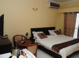 Road view Park Hotel, hotel in Kitwe