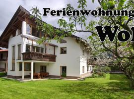 Apartments Wolf, Hotel in Reutte